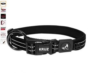 Kruz Pet Heavy Duty O Ring Collar Soft Neoprene Padding