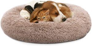 Mixjoy Orthopedic Dog Bed Comfortable Donut Cuddler Round Dog Bed Ultra Soft Washable Dog And Cat Cu