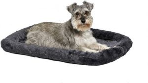 Midwest Bolster Pet Bed Dog Beds Ideal For Metal Dog Crates Machine Wash & Dry