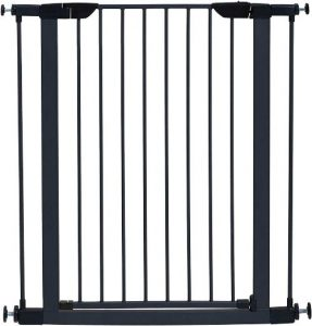Midwest Homes For Pets Steel Pet Gate Pet Safety Gate; 29 & 39 Tall In Soft White Or Textured G
