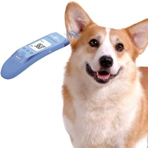 Mindpet Med Fast Clinical Pet Thermometer For Dogs, Cats, Animals With 3 Switchable Modes (body, Obj