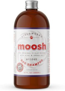 Moosh Natural Dog Shampoo – Promotes Healthy Hair, Coat And Skin. Helps Hot Spots, Dry Itchy Skin, A