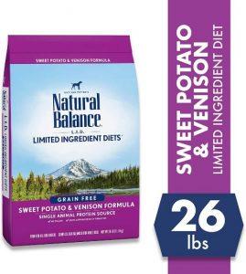 Natural Balance Lid Venison Dry Dog Food