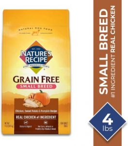 Nature's Recipe Grain Free Small Breed Dry Dog Food, Chicken, Sweet Potato & Pumpkin (2)