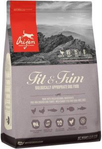 Orijen Fit & Trim High Protein, Grain Free, Premium Quality Meat, Adult Dry Dog Food