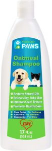 Particular Paws Oatmeal Shampoo For Dogs And Cats With Shea Butter, Aloe Vera, Chamomile