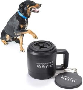 Paw Plunger For Dogs – Portable Dog Paw Cleaner For Muddy Paws – This Dog Paw Washer Saves Floors, F