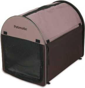 Petmate Portable Pet Home, Dark Taupe Coffee Grounds Brown (1)
