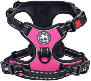 Poypet No Pull Adjustable Padded Dog Harness