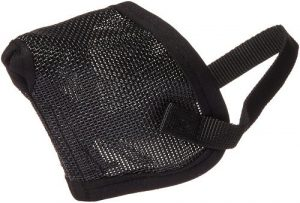 Pro Guard Mesh Dog Muzzle For Short Nose Flat Faced Dogs, (pug Muzzle) One Size Fits All