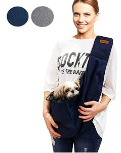 Retro Pug Pet Carrier For Small And Medium Dogs,cat Pet Sling Purse Front Pack – Travel Puppy Ca