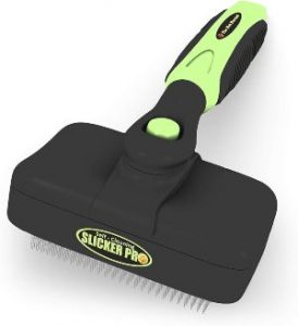 Roll Over Image To Zoom In Pro Quality Self Cleaning Slicker Brush For Dogs And Cats Easy To Clea