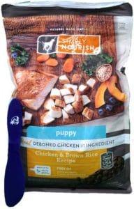 Simply Nourish Puppy Dry Dog Food, Chicken & Brown Rice, 5lbs & Especiales Cosas Spatula