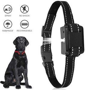 Ultpeak Dog Barking Adjustable Anti Bark Spray Collar