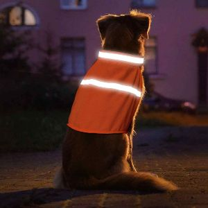 Vizpet Reflective Dog Vest With Lightweight Adjustable Strap & Comfortable Material Ideal To Keep Do