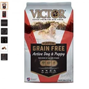 Victor Dog Food Grain Free Active Dog And Puppy Beef Meal And Sweet Potato