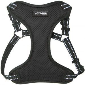 Voyager Step In Flex Dog Harness All Weather Mesh, Step In Adjustable Harness For Small And Mediu