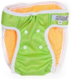 Washable Wonders Dog Diapers For Female No Tail Hole Premium Reusable Dog Panties Absorbent D