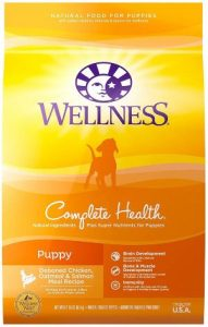 Wellness Complete Health Natural Dry Puppy Food, Chicken, Salmon & Oatmeal