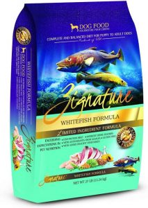 Zignature Whitefish Formula Dog Food