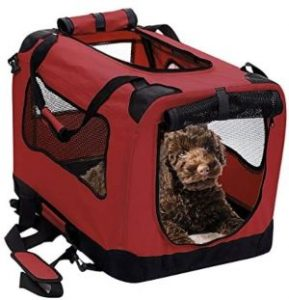 2pet Foldable Dog Crate Soft, Easy To Fold & Carry Dog Crate For Indoor & Outdoor Use Comfy Dog