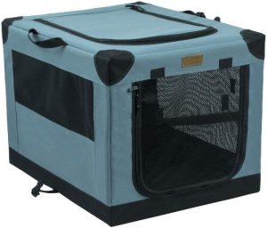 Akinerri Folding Soft Dog Crate For Dogs,cats With Strong Steel Frame