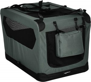 Amazonbasics Premium Folding Portable Soft Dog Crate