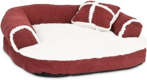 Aspen Pet Sofa Bed With Pillow For Comfort And Support One Size Assorted Colors
