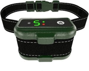 Bark Collar For Dogs Effective K9 Professional Dog Bark Collar W Barking Detection Rechargeable