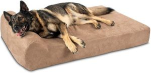 Big Barker 7 Pillow Top Orthopedic Dog Bed For Large And Extra Large Breed Dogs (headrest Edition)