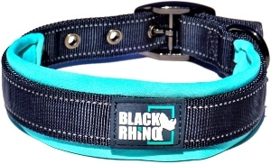 Black Rhino The Comfort Collar Ultra Soft Neoprene Padded Dog Collar For All Breeds