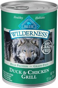 Blue Buffalo Blue Wilderness Duck & Chicken Grill Canned Dog Food
