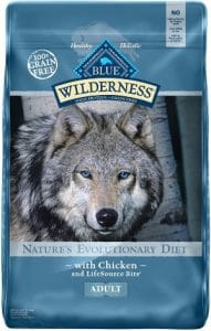 Blue Buffalo Wilderness High Protein Grain Free, Natural Adult Dry Dog
