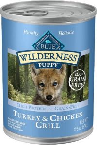Blue Buffalo Wilderness High Protein Grain Free Natural Puppy Wet Dog Food, 12.5 Oz Cans (pack Of 12
