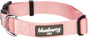 Blueberry Pet Essentials 22 Colors Classic Solid Color Collection Regular Collars, Martingale Coll