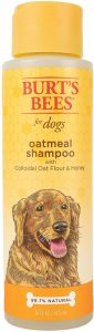Burt's Bees All Natural Oatmeal Shampoo & Conditioner For Dogs Made With Colloidal Oat Flour And