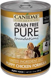 Canidae Pure, Grain Free Limited Ingredient, Premium Wet Dog Food, Case Of 12