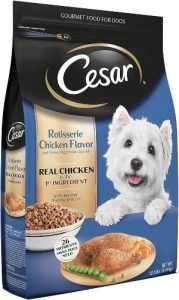 Cesar Small Breed Dry Dog Food, All Flavors