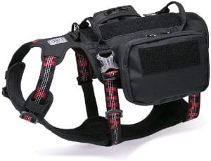 Chai's Choice Rover Scout High Performance Tactical Training Military Backpack Service Dog Harness