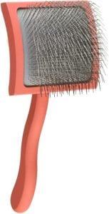 Chris Christensen Long Pin Slicker Brush, Large, Coral