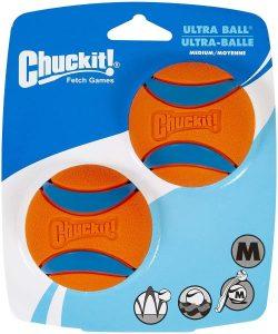 Chuckit! Ultra Ball, Medium (2.5 Inch) 2 Pack