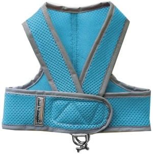 Cloak & Dawggie Mesh Step N Go Small Dog Harness Step In Teacup To 25 Lbs. Vest Easy On Adjustable.