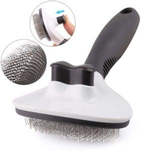 Dog Brush, Self Cleaning Slicker Brush For Dogs And Cats, Effectively Reducing Shedding By Up To 95%