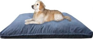 Dogbed4less Jumbo Orthopedic Extreme Comfort Memory Foam Pet Bed Pillow, Waterproof Lining And Machi