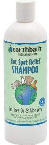 Earthbath Threp0047 Hot Spot Relief Shampoo Tea Tree Oil & Aloe Vera 16 Fl. Oz.