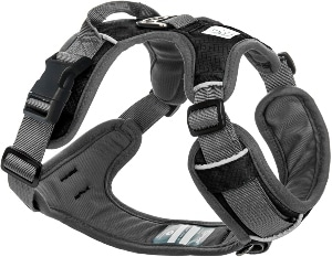 Embark Adventure Dog Harness, Easy On And Off With Front And Back Leash Attachments & Control Handle No Pull Training, Size Adjustable And Non Choke