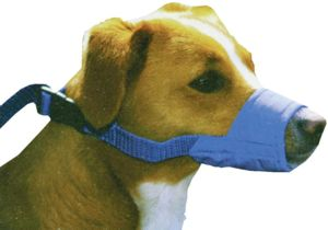 Four Flags Quick Muzzle For Dogs Small,1 Pc,blue