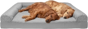 Furhaven Pet Dog Bed Therapeutic Sofa Style