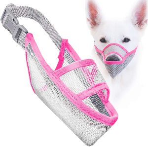 Goodboy Soft Mesh Dog Muzzle For Preventing Unwanted Eating, Biting, Licking, Chewing And Barking Ha
