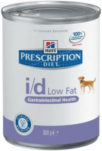 Hill's Prescription Diet Pet Nutrition I D Low Fat Digestive Care Chicken Flavor Canned Dog Food, 13